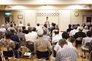 個人演説会・砺波市(6月22日)