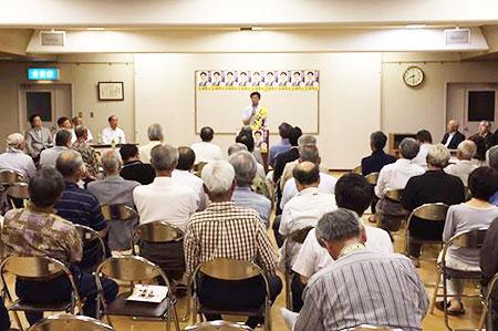 個人演説会・砺波市 (6月22日)