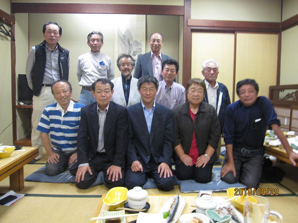 小矢部市後援会南谷支部役員会・小矢部市(平成30年9月29日)