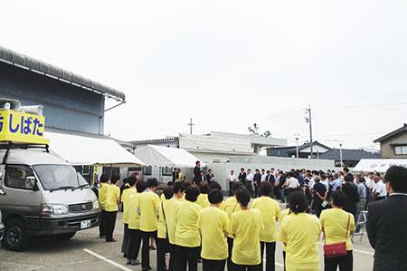 出陣式・小矢部市 (6月22日)