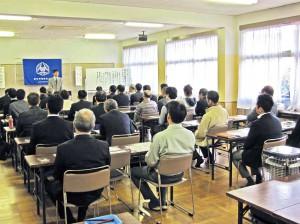 射水市倫理法人会で講演・射水市(平成29年4月4日)