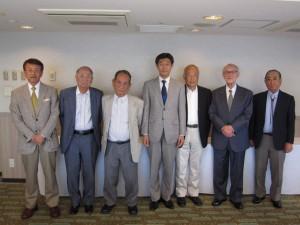 関西地区後援会役員会 ・大阪市(平成29年5月20日)